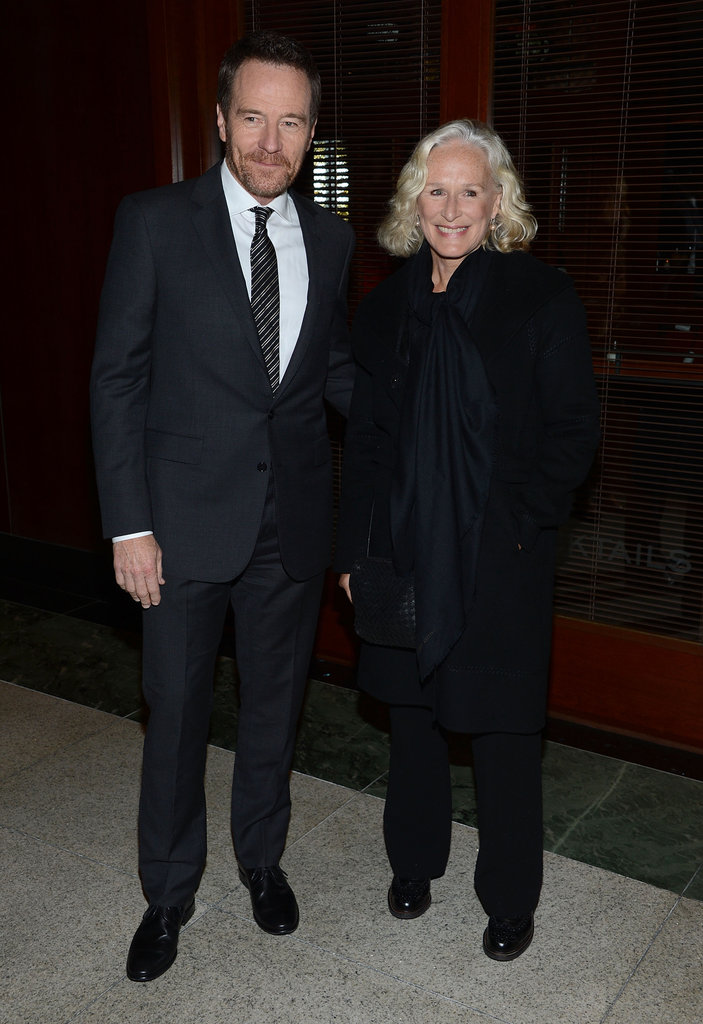 Bryan Cranston and Glenn Close the premiere of Ben Affleck's new film.