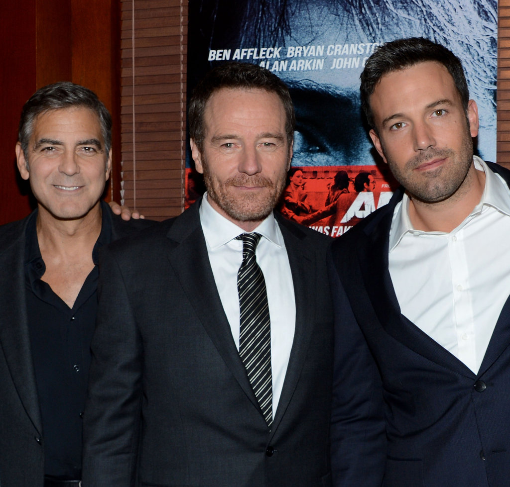 Ben Affleck was with George Clooney for the NYC premiere of Argo.