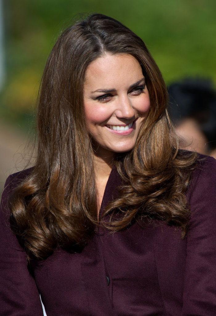 Kate Middleton visited Newcastle upon Tyne in England.