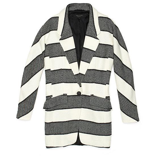 Rag & Bone Striped Coat