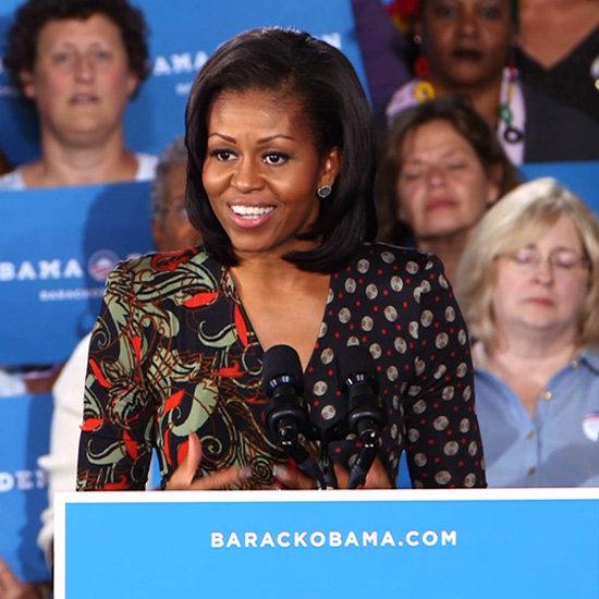 Michelle Obama Campaign Rally (Video)