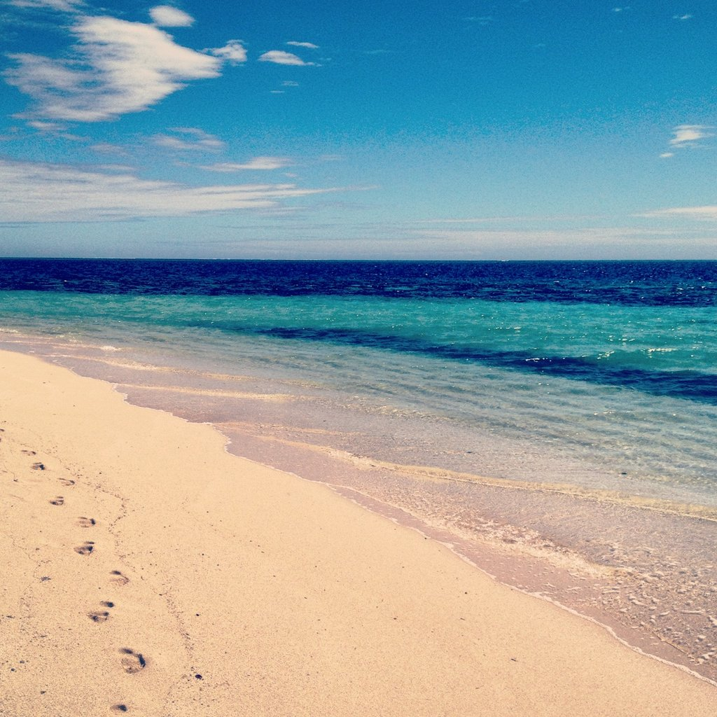 It's true, the water really was that blue. Most days we snorkelled, kayaked and sailed from dawn until dusk.