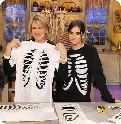 Make a Skeleton T-Shirt