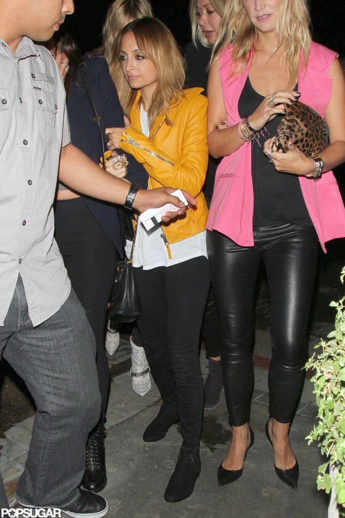 Nicole Richie had a ladies' night.