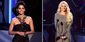 Britney Spears and Halle Berry Honour Whitney With a Star-Studded Show