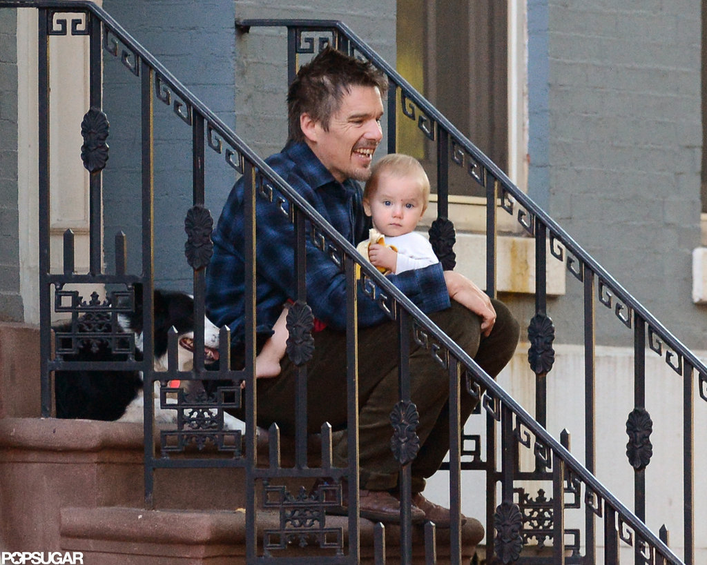 Ethan Hawke was out in NYC