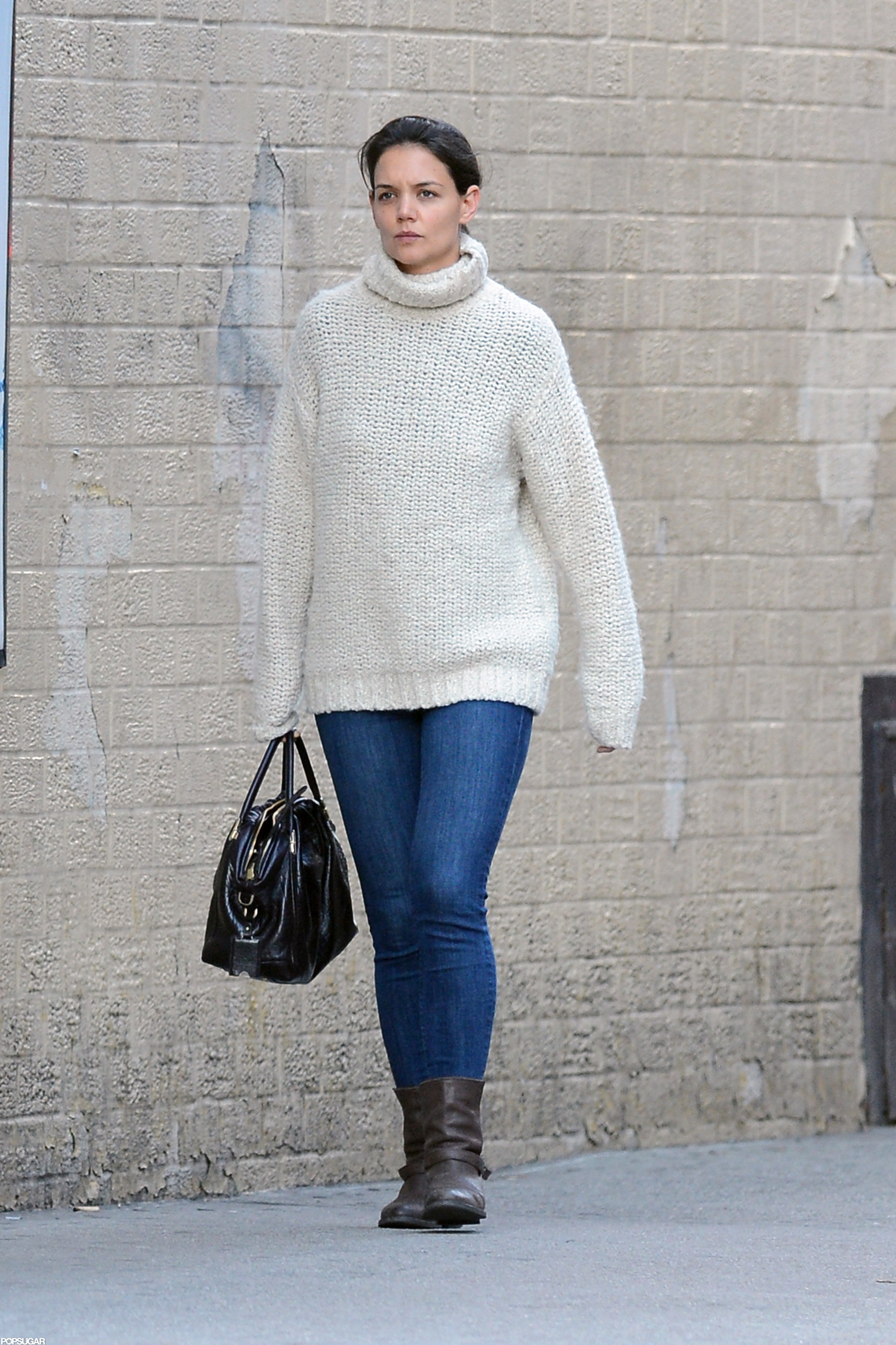 Katie Holmes stepped out in NYC