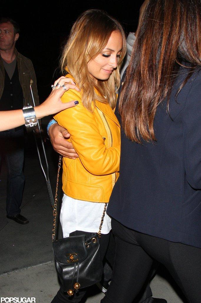 Nicole Richie had a night out in LA.