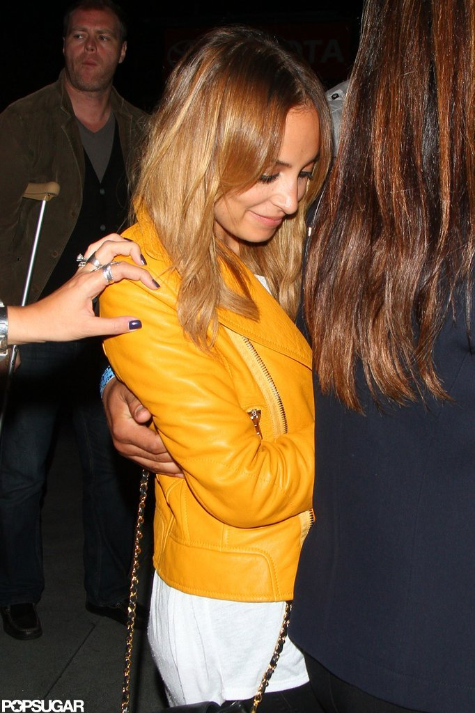 Nicole Richie headed home in LA.