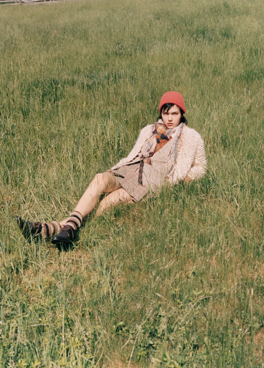 Club Monaco Takes Its Tailored Fall Wares to the Rustic Catskills