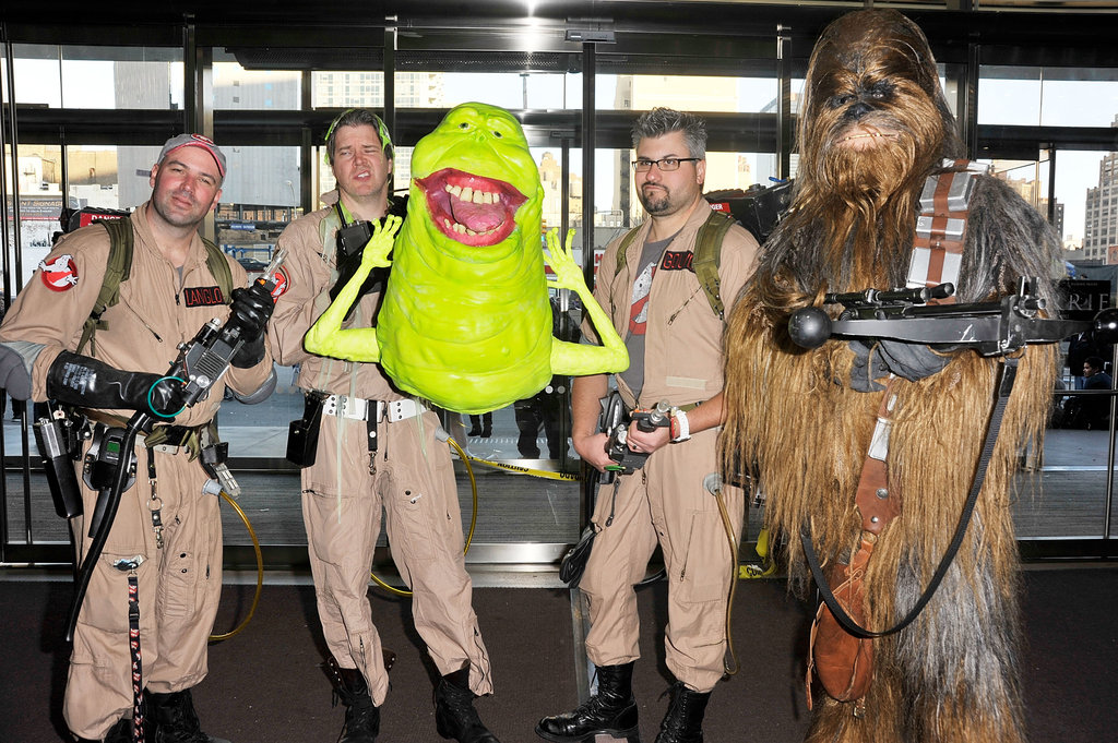 Ghostbusters and Chewbacca
