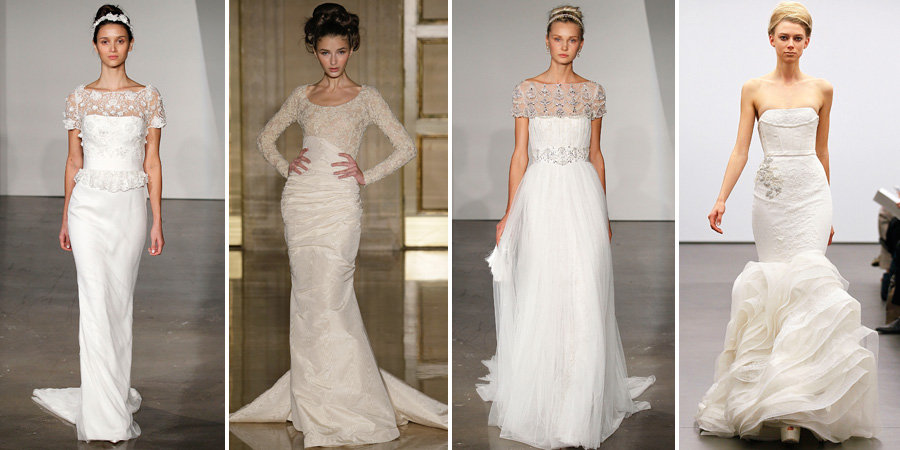 The Most Gorgeous Fall '13 Wedding Dresses