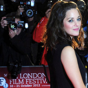 Pictures of Marion Cotillard at the 2012 London Film Festival: See her Two Chic Red Carpet Looks from All Angles