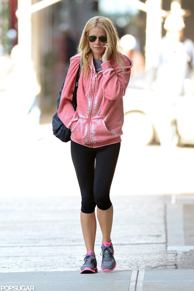 Gwyneth Paltrow wore pink.