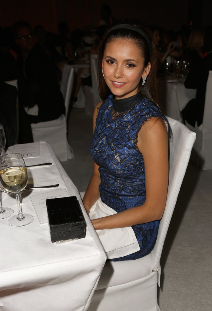 Nina Dobrev stepped out in LA for the Elle Women in Hollywood Awards.