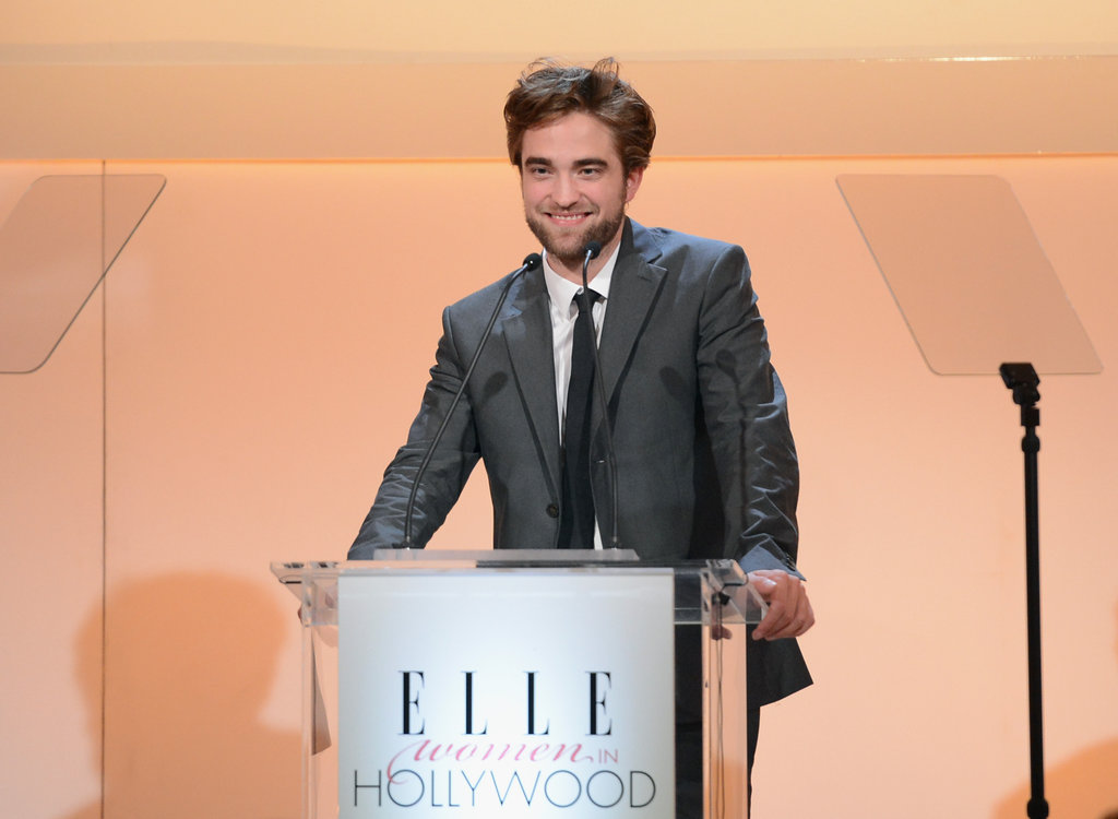 Robert Pattinson attended the Elle Women in Hollywood Awards in LA.