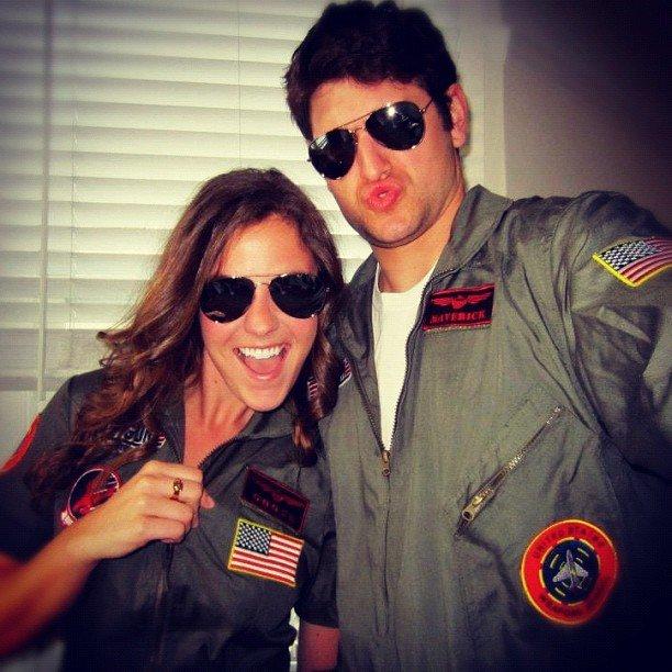 Goose and Maverick From Top Gun