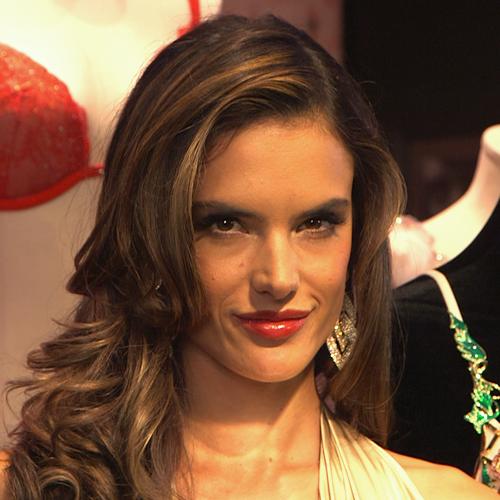 Alessandra Ambrosio Unveils the Fantasy Bra (Video)