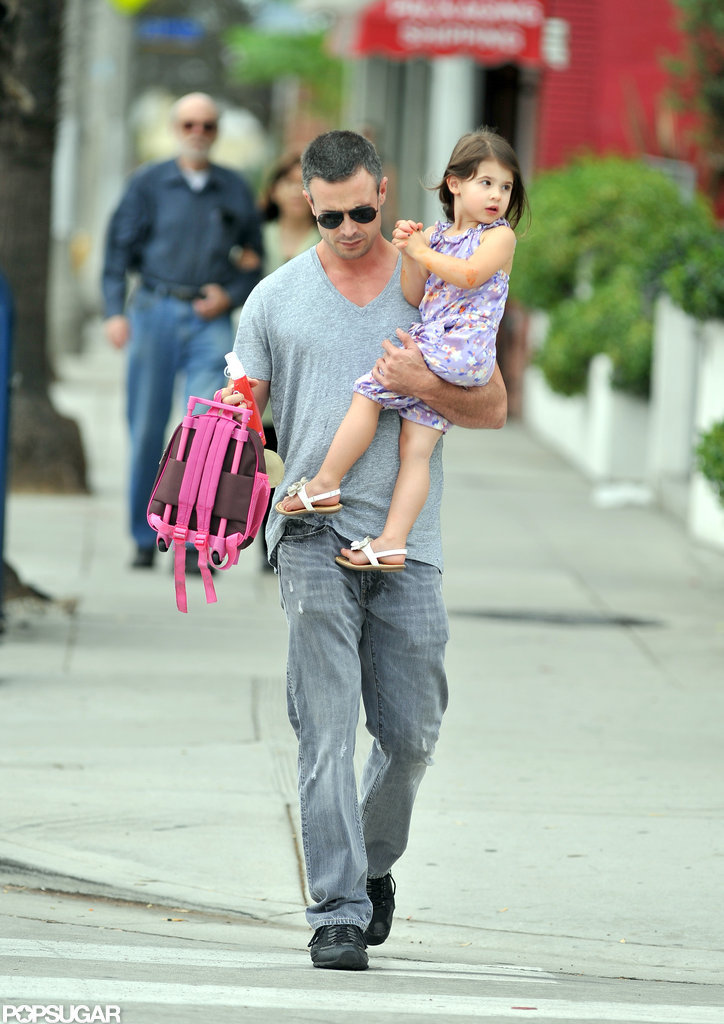 Freddie Prinze Jr. took Charlotte Prinze to school.
