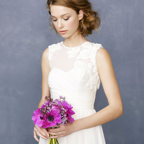 We showed you J.Crew's Fall wedding and parties collection.