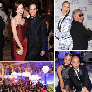 Models Karolina Kurkova, Erin Heatherton, Coco Rocha Party With Jason Wu And Roberto Cavalli At Bergdorf Goodman Party