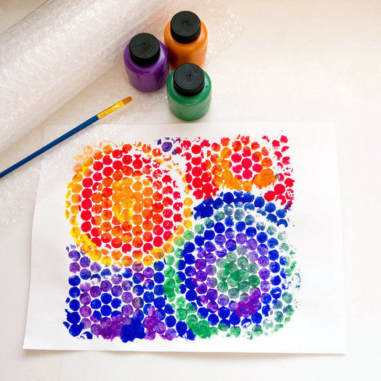 Create a Bubble Wrap Print