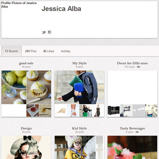 Jessica Alba on Pinterest