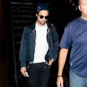 Robert Pattinson Heads to Australia | Pictures