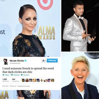 Best Celebrity Tweets: Guy Sebastian, Ellen DeGeneres, Justin Long, Alexa Chung, Nicole Richie, Joel Madden, Taylor Swift