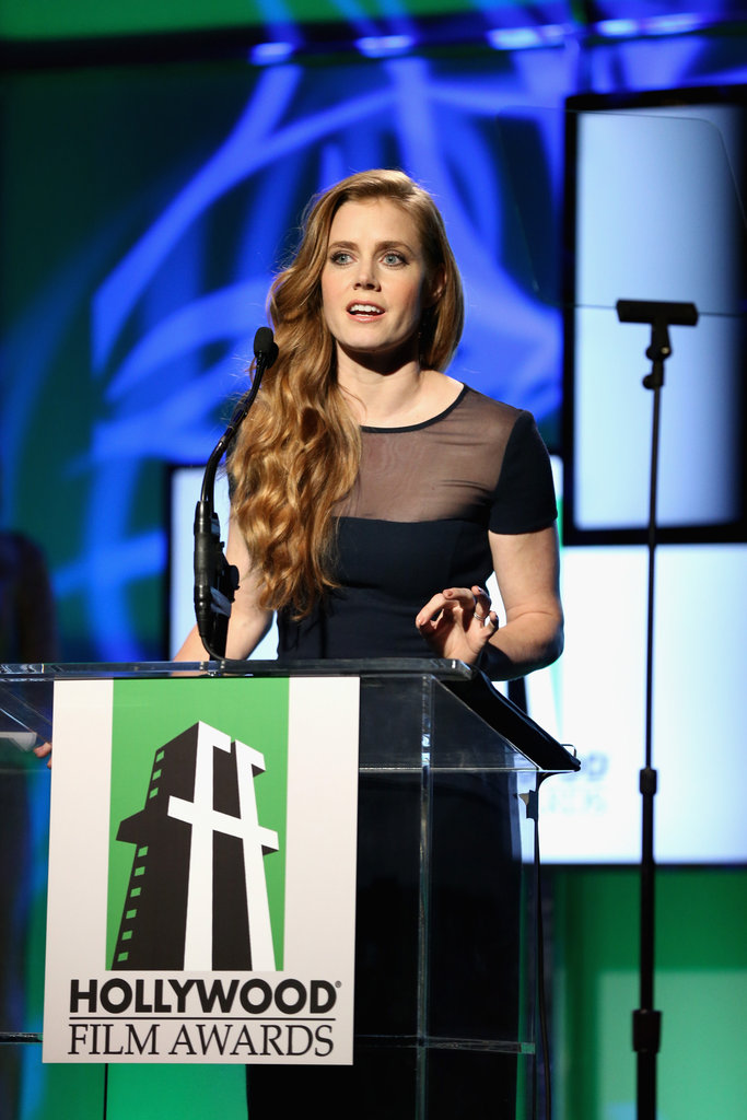 Amy Adams appeared on stage at the gala in Los Angeles.