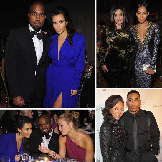Kim Kardashian and Kanye West Dress to the Nines For an NYC Bash