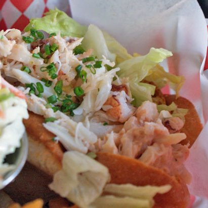 'Wich of the Week: Dungeness Crab Roll