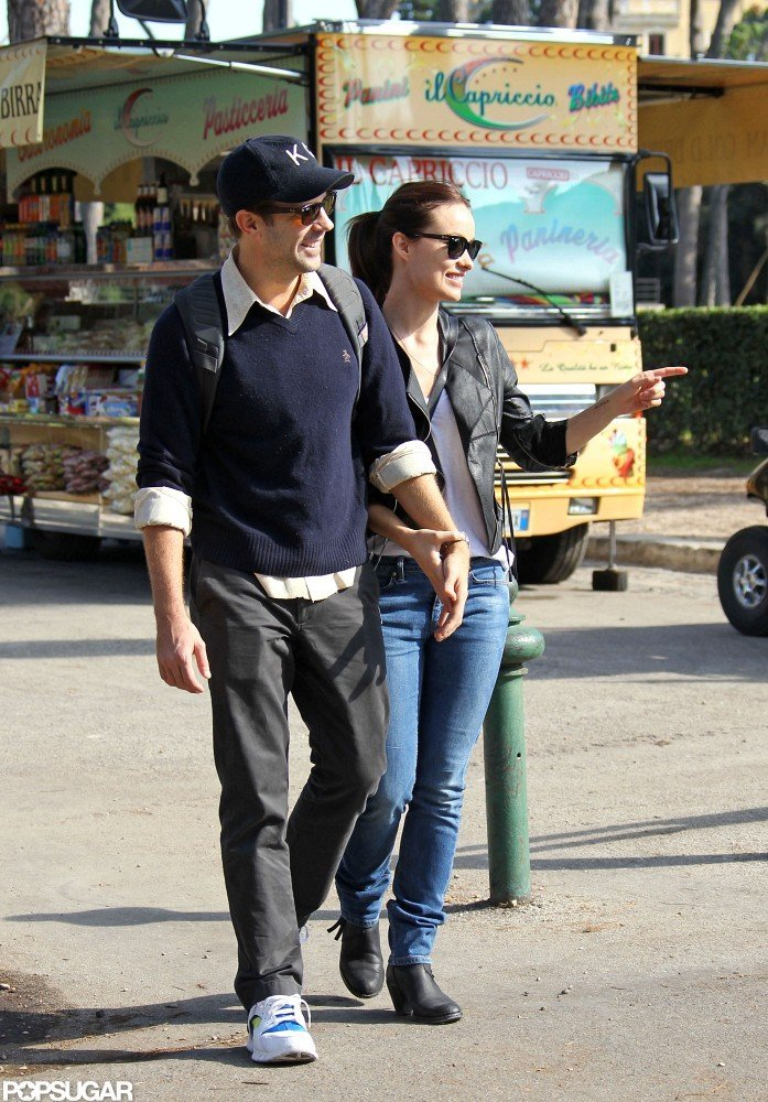 Olivia Wilde and Jason Sudeikis checked out the sights in Rome.