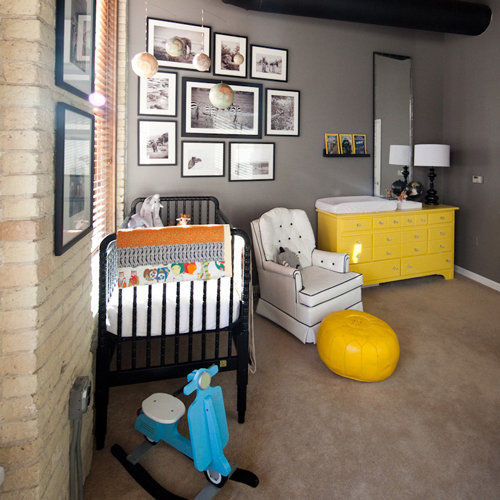 10 Great Baby Room Ideas For Parents To Use In Their: Industrial, Global Nursery Pictures