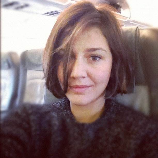 Margherita Missoni made another chop to her locks. Source: Instagram user mmmargherita