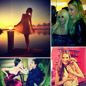 Pictures of Celebrities on Social Media | Oct. 25, 2012