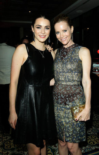 Bee Shaffer and Leslie Mann