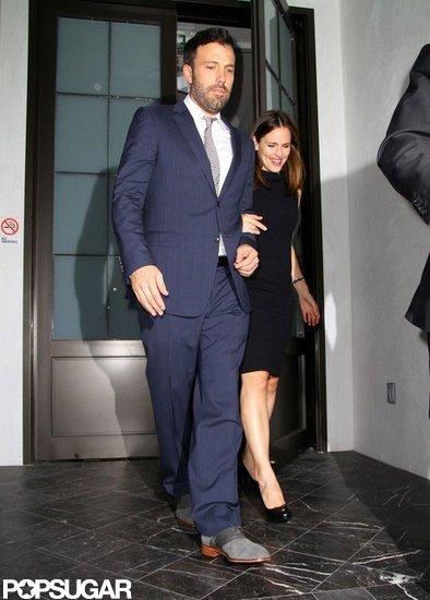 Ben Affleck and Jennifer Garner Dress Up For Date Night