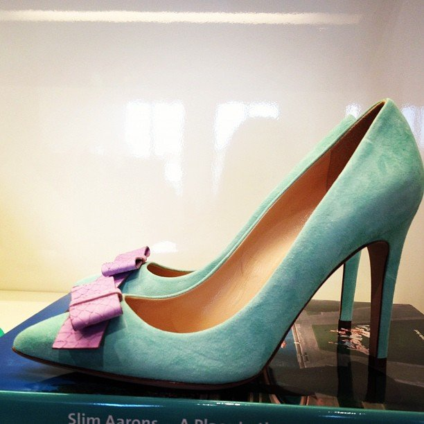 The J.Crew Spring preview showcased ladylike pumps with perfect bows.