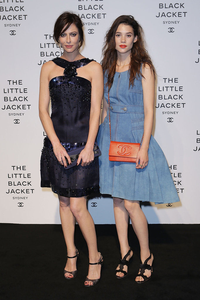 Astrid Berges-Frisbey and Anna Mouglalis
