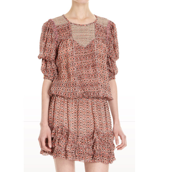 Dress, approx $700, Isabel Marant from Barneys