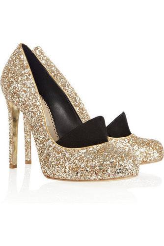 Stella McCartney Glitter Pumps