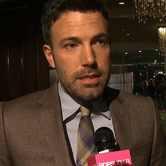 Ben Affleck at the Casting Society of America Awards (Video)