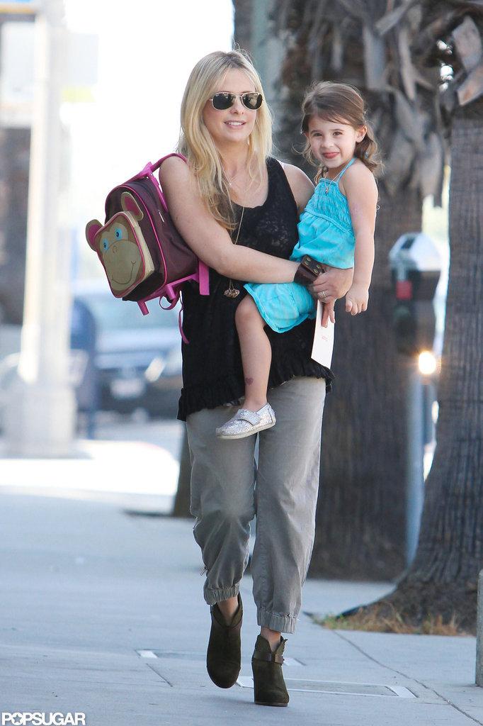 Sarah Michelle Gellar and Charlotte Prinze took a stroll in LA.
