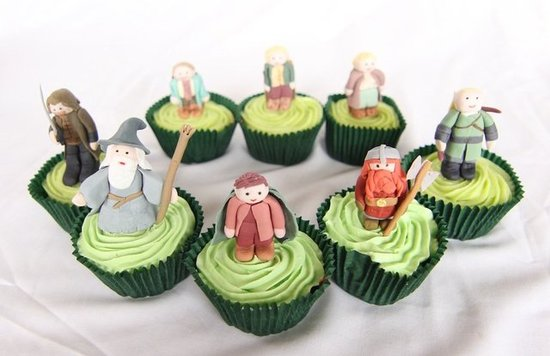 One Lord of the Rings Cupcake Collection to Rule Them All