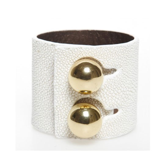 With a large-scale cuff like this I won't be needing any other accessories (besides a tan!). — Ali, FabSugar editor Cuff, $180, Rachael Ruddick
