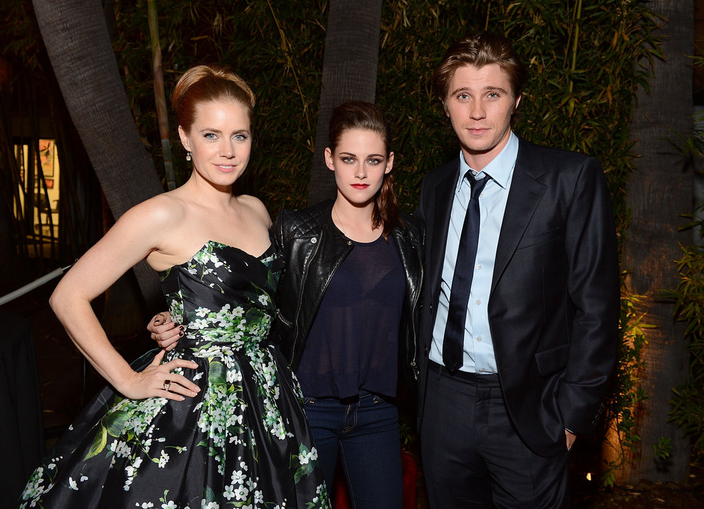 Kristen Stewart Joins Garrett, Amy — and Robert! — To Show On The Road