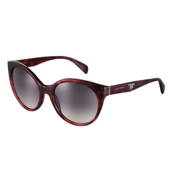 Sunglasses, $370, Prada at Sunglass Hut. Ph: 1800 556 926