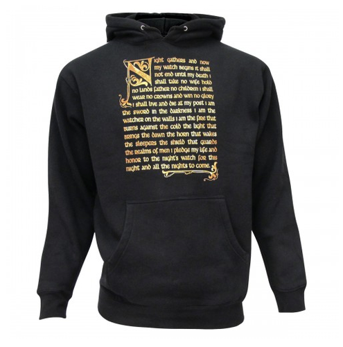 Game of Thrones Night's Watch Oath Hoodie ($45)