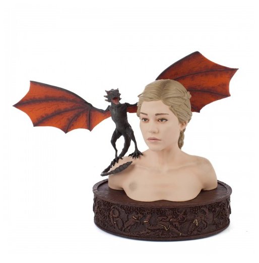 Game of Thrones Daenerys & Drogon Collectible Bust ($125)